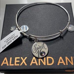 Alex and Ani sweet 16 charm bracelet